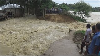 flood flash away dam in kailashar, Tripura