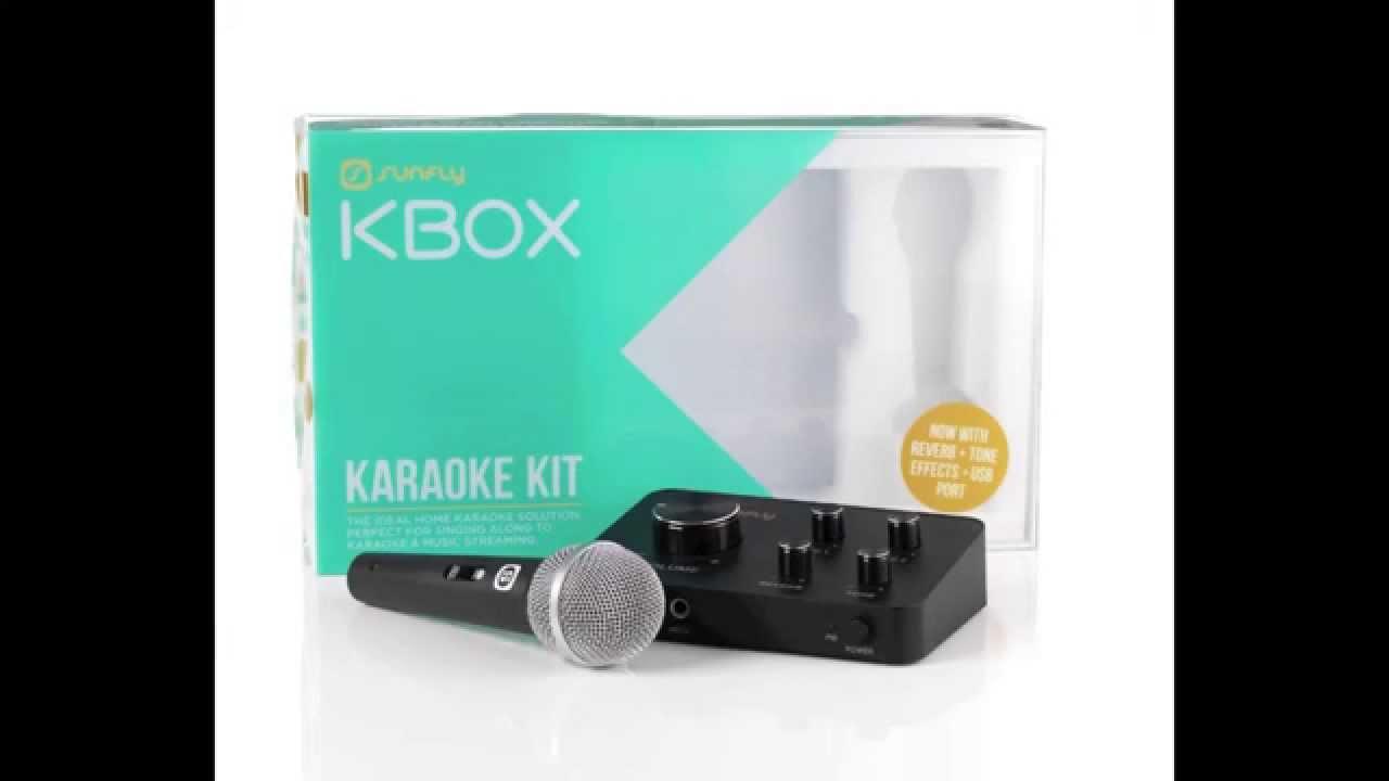 Sunfly Kbox Karaoke Kit Promo