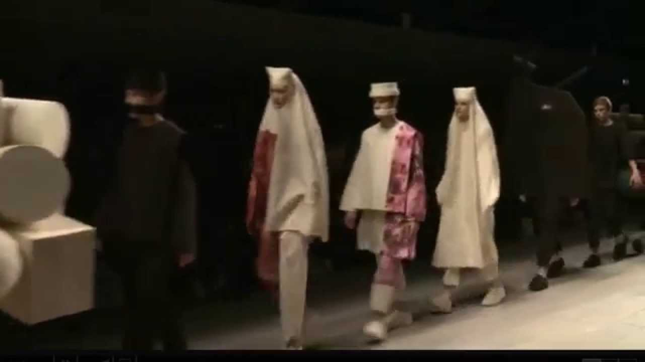 Central Saint Martins Ma Fashion Show