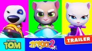 Talking Tom Jetski 2 - Official Trailer