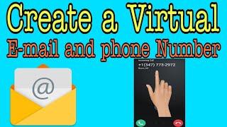 So erstellen Sie eine virtuelle Telefon-Nummer und e-mail