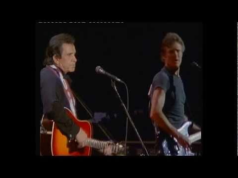 The Highwaymen - Kris Kristofferson - Living legend (live at Nassau Coliseum, 1990)