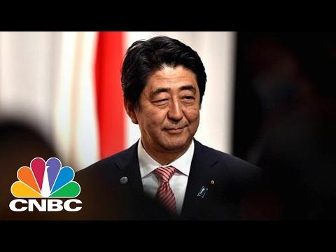 President Donald Trump Meets With PM Shinzo Abe Today   Squawk Box   CNBC