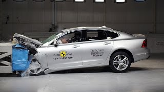 Volvo S90 Crash Test (2017) Best Performing Ever [YOUCAR]
