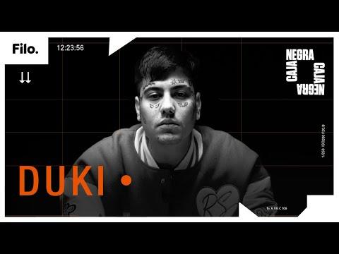 """Duki: """"Duko acaba de llegar, puse los pies sobre la tierra y puede pasar lo que sea""""   Caja Negra"""