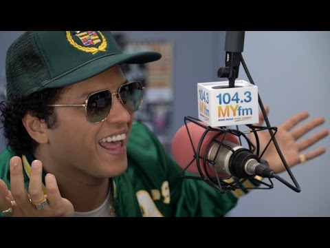 "Bruno Mars Talks ""24k Magic"", New Album, Tour, and More!"