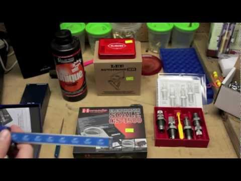 Reloading Handgun Ammo Tutorial Part 1