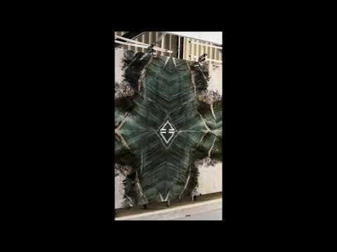 Bellostone - Green Quarzite Panno Book Match