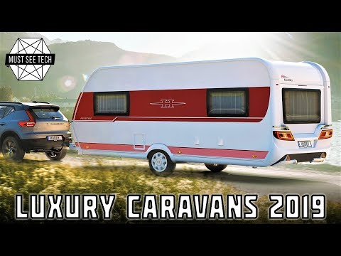 Top 9 Luxury Caravans and Fifth-Wheel Trailers that Will Make You Sell the House