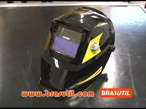 Super Dicas - Máscara de solda com escurecimento automático - YouTube a0d413c586