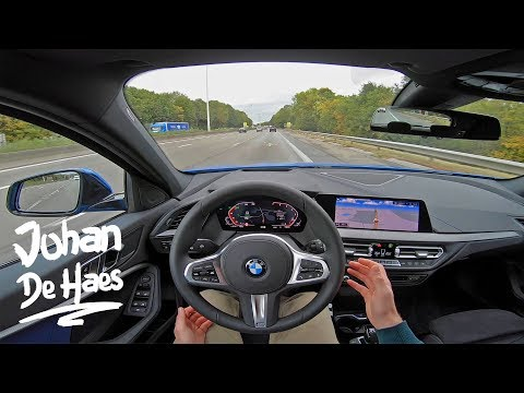 2019 BMW 1-SERIES 118i 140 HP POV TEST DRIVE