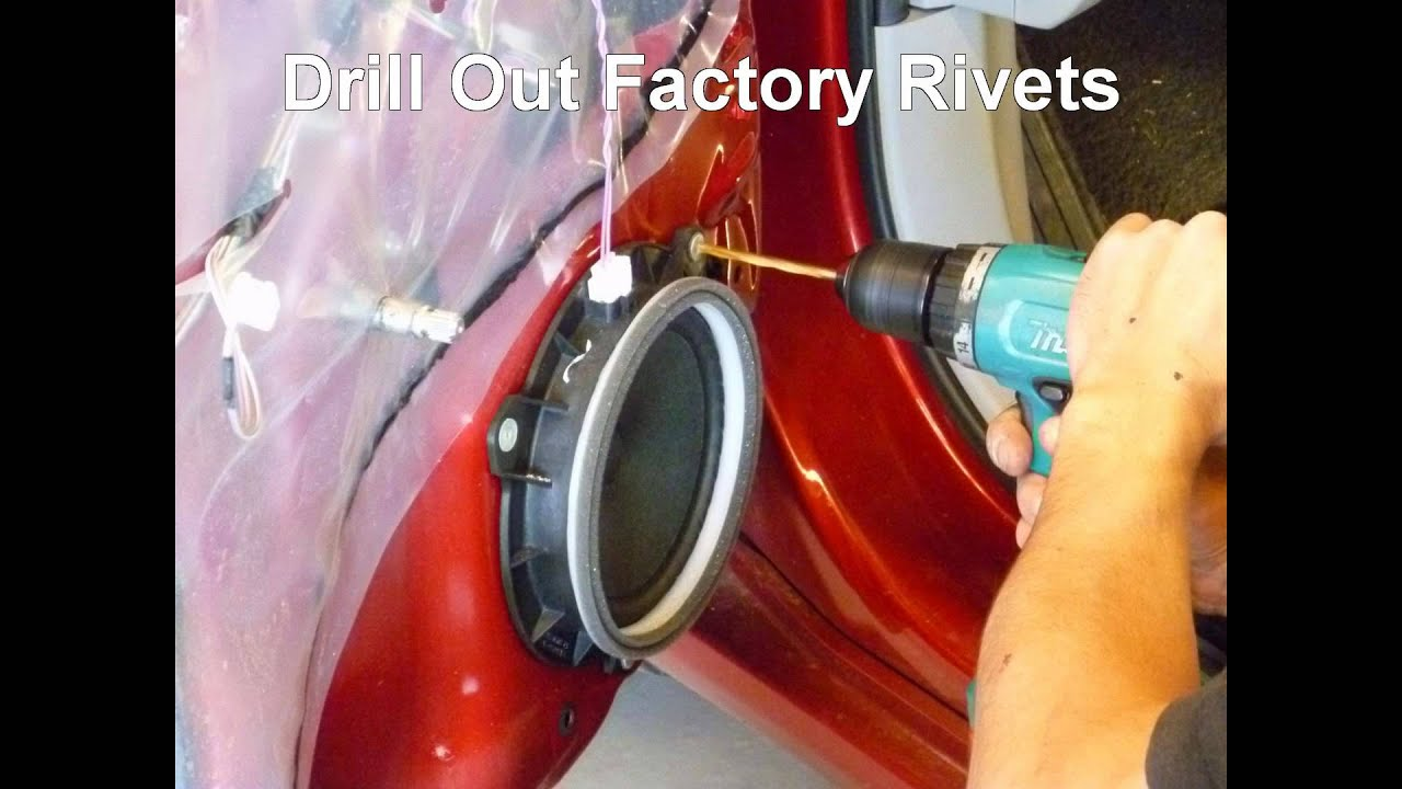 How To Replace Front Door Speakers In A Toyota Corolla