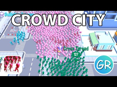 Crowd City Gameplay | Pig Edition 🐷 - Trying To Get A New Highscore With The Pig Skin