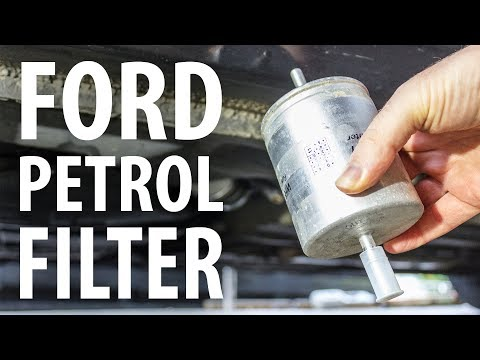 How to: Replace Ford fuel filter (Mondeo Mk3)