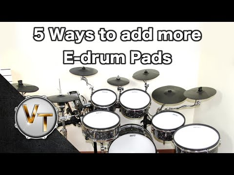 5 Ways to add more pads to your e-drumkit -