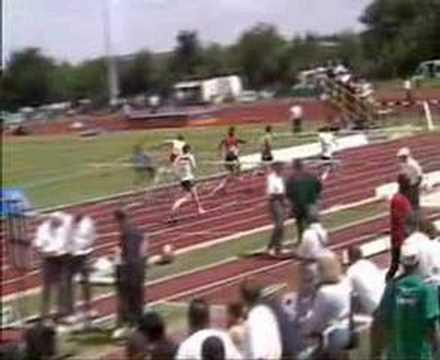 AAA's Champs 2004 - U20 Mens 110 Metres Hurdles