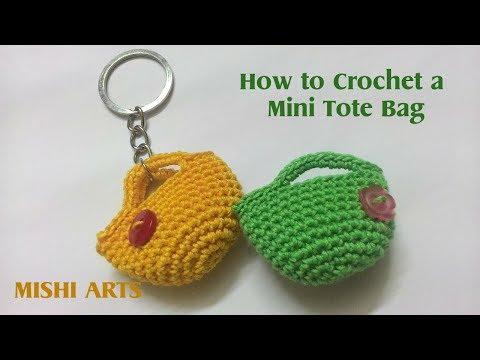How to Crochet a miniature Bag / Purse