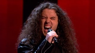 The Voice of Ireland Series 4 Ep7 - John Bonham - Immigrant Song - Blind Audition