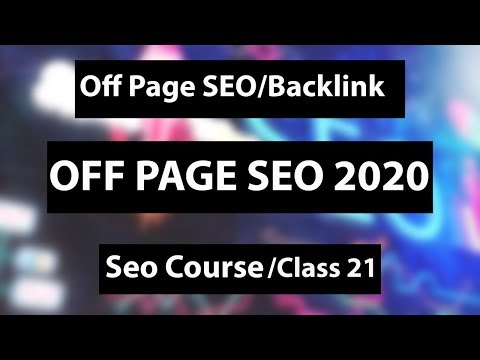 Off page seo 2020-Off page optimization-Seo Course- Urdu/hindi