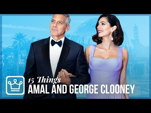 15 Things You Didn't Know About Amal And George Clooney