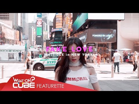 (여자)아이들((G)I - DLE) - 'FAKE LOVE / BTS (Dance Cover in New York)'