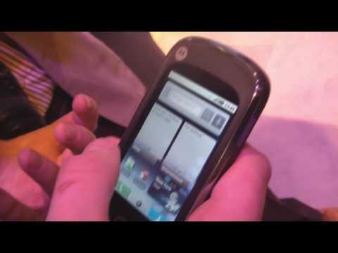 Motorola Quench Cliq XT hands-on