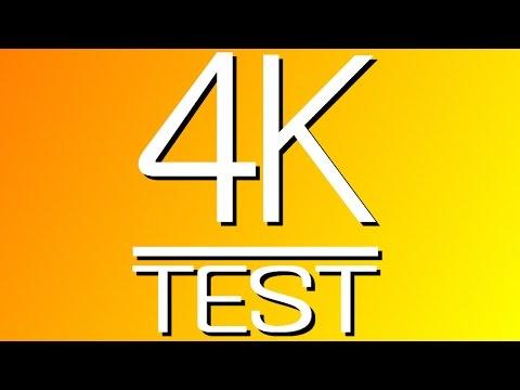 4K Video Demo, UHD: 4K RESOLUTION TEST (4K DEMO) and Teaser