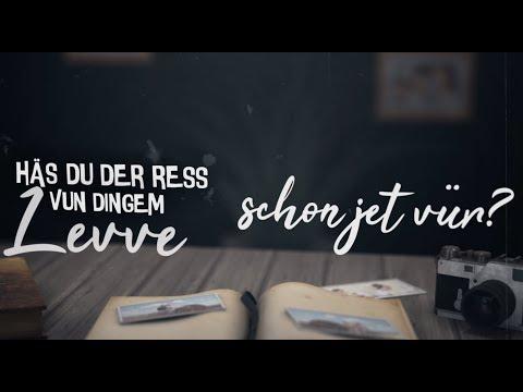 Kasalla Der Ress Vun Dingem Levve Offizielles Lyrics Video