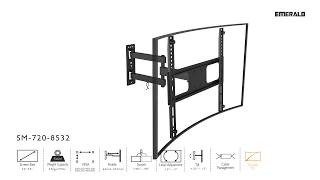 Emerald TV Wall Mounts For SM 720 8532