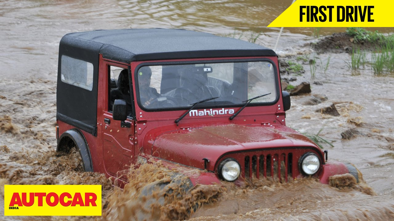 2015 Mahindra Thar First Drive Autocar India Youtube