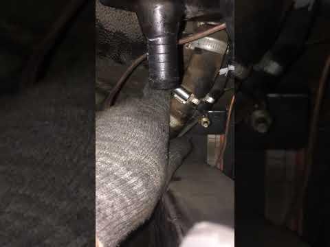 Дует холодным воздухом, ремонт печки в авто Форд Транзит