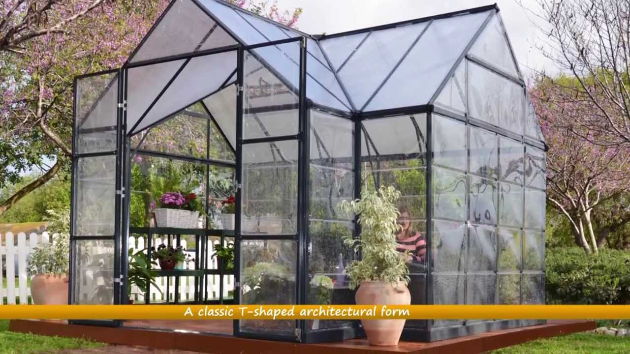 Fantastisk Palram Victory™ Orangery Greenhouse - Special Pack - YouTube VQ87