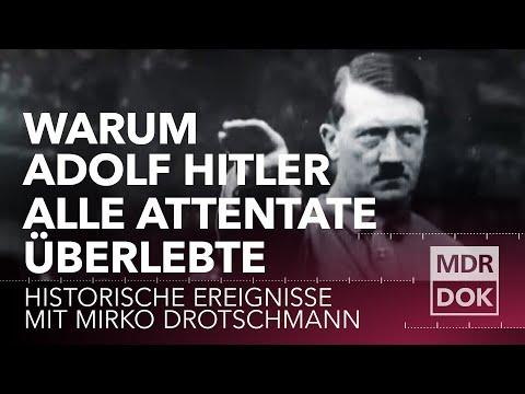 Warum Adolf Hitler alle Attentate überlebte | Historische Ereignisse