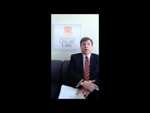 Dean Holloway (U. of Calgary Faculty of Law) - Global Dialogue on the Future of Legal Education