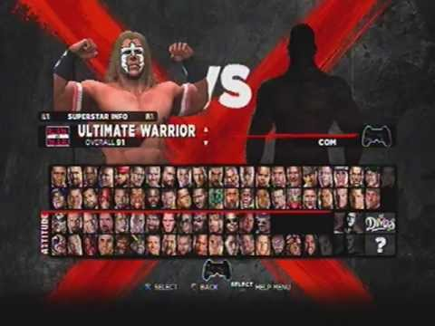 Complete WWE 13 Roster