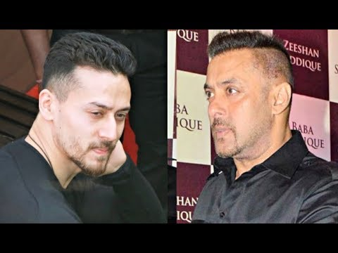 Tiger Shroff Copies Salman Khan Hairstyle Youtube
