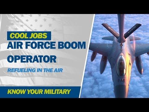 Cool Jobs: Air Force Boom Operator