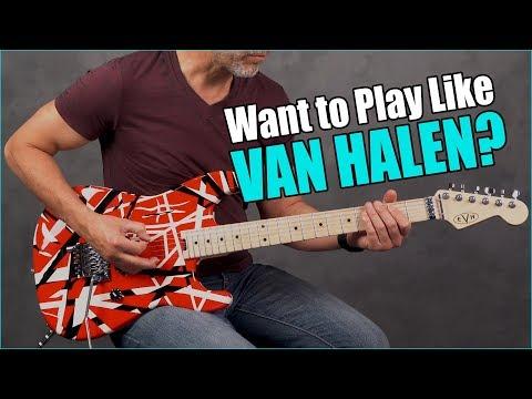 Top 5 Coolest Van Halen Riffs You Can Play TODAY