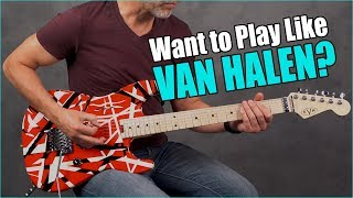 Top 5 Coolest Van Halen Riffs You Can Play TODAY