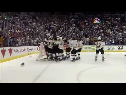 Boston Bruins win Cup, final 30 seconds 6/15/11