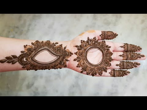 Dubai Style Henna Design 4