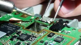Замена USB на lenovo A536