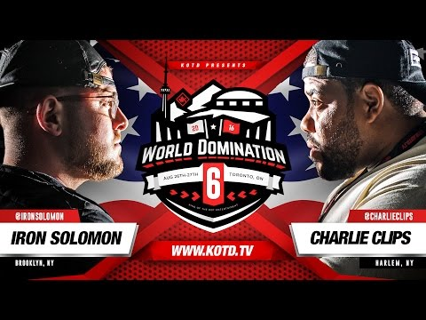 KOTD - Rap Battle - Iron Solomon vs Charlie Clips | #WD6ix