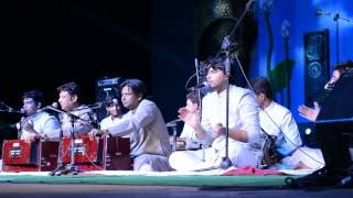 Khwaja Mere Khwaja by Warsi Brothers at sukoon 2015 University of hyderabad