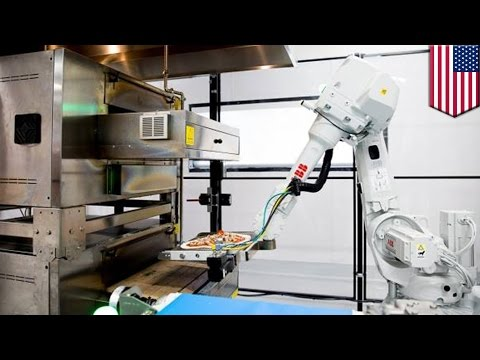 Zume Pizza can predict when orders will come in, and uses robots to make their pizzas - TomoNews