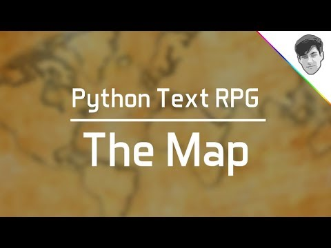 Python Text RPG (Part 3) - Making the Map - Beginner-friendly nested dictionaries trick!