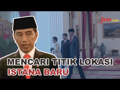 Jokowi Segera Tentukan Letak Istana di Ibu Kota Baru