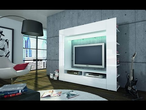 Modern Custom LED TV Wall Units and Entertainment Centers Designs