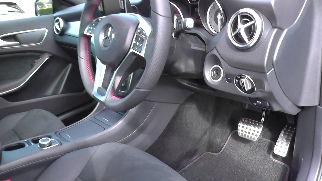 Mercedes GLA OBD2 Diagnostic Port Location Guide