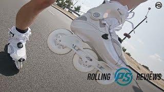 Powerslide V. Radium White 100 fitness inline skates - Rolling Reviews